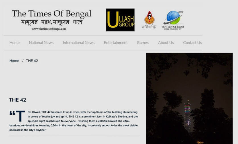 online coverage times of bengal